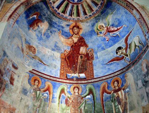 basilica sant'anelo in formis