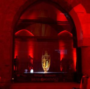 vetrina multimediale museo campano
